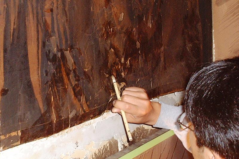 壁画修復 表具 京都
